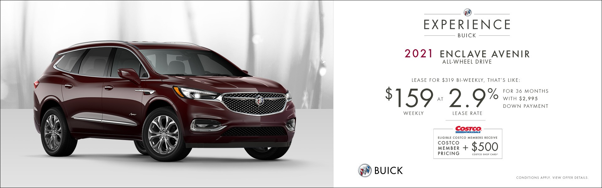 Western - Buick Enclave - English