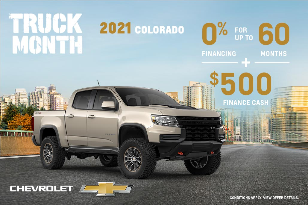 Western - Chevrolet Colorado - English