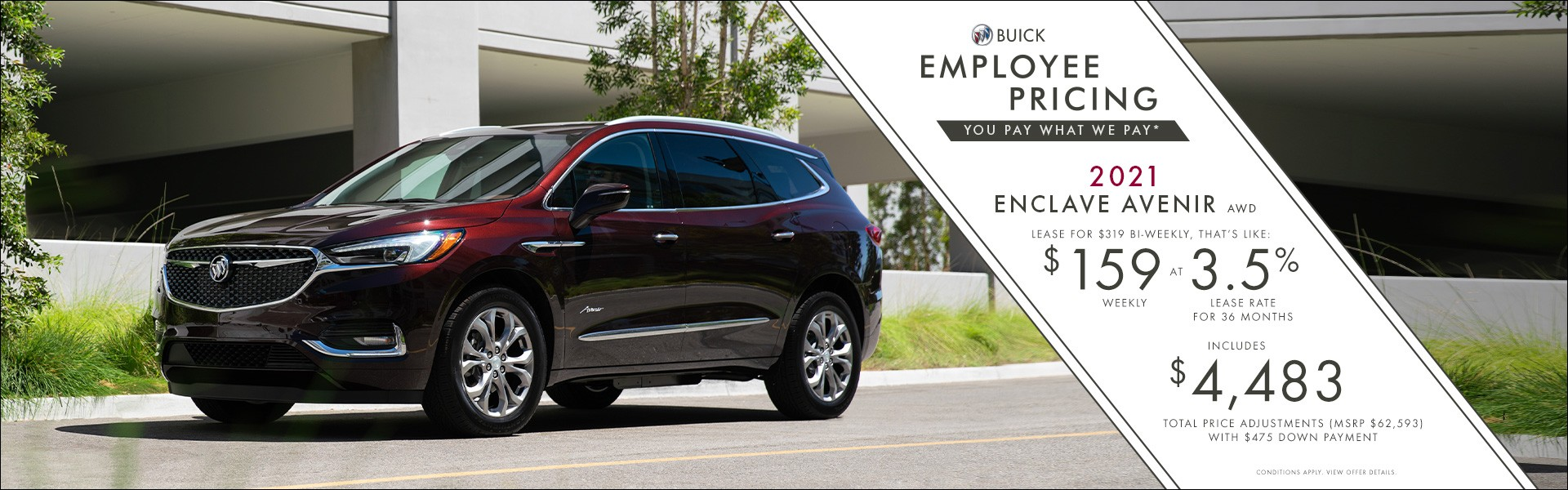 Buick Enclave - Western - English