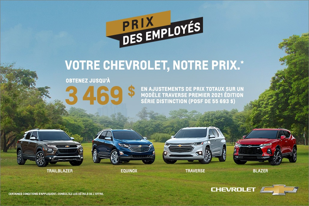Chevrolet Family - Central - French
