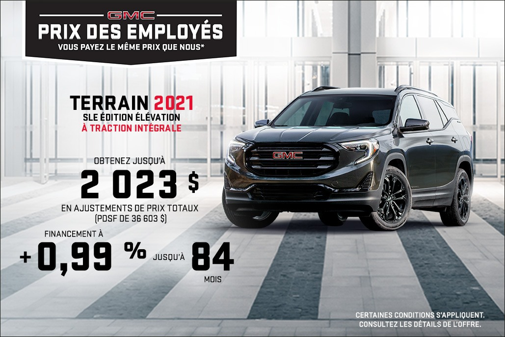 GMC Terrain - Central - French